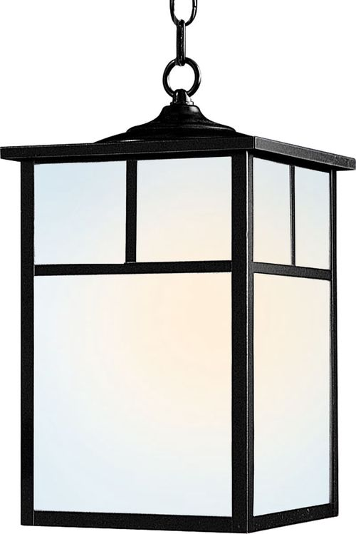 """Coldwater 15"""" Single Light Outdoor Pendant Light in Black"""