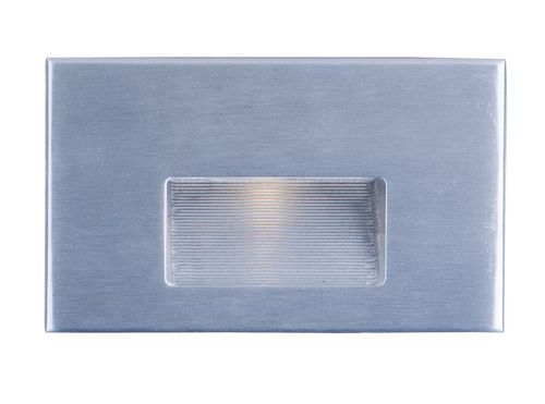 """Path 3"""" Outdoor Pathway Light - Brushed Aluminum"""