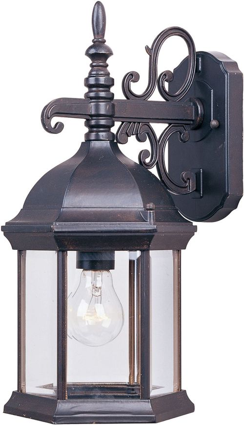 "Builder Cast 8"" 1-Light Outdoor Wall Mount - Empire Bronze"