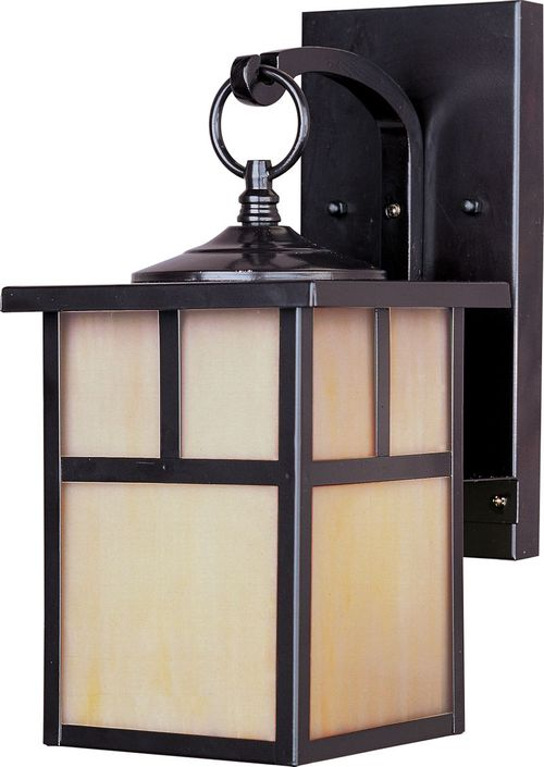 """Coldwater 12"""" Single Light Outdoor Wall Mount Light in Burnished"""