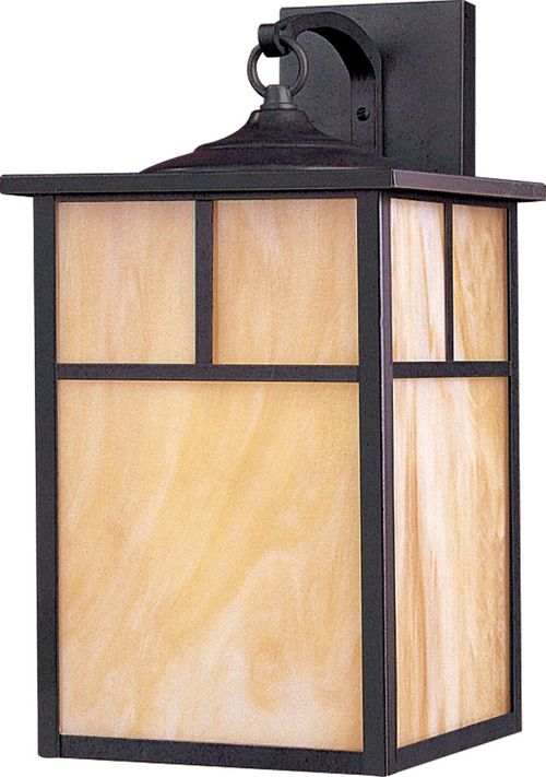 """Coldwater 9"""" 1-Light Outdoor Wall Mount - Burnished"""