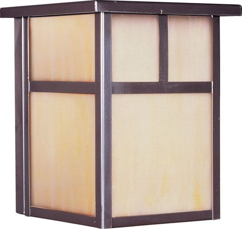 """Coldwater 6"""" 1-Light Outdoor Wall Mount - Burnished"""