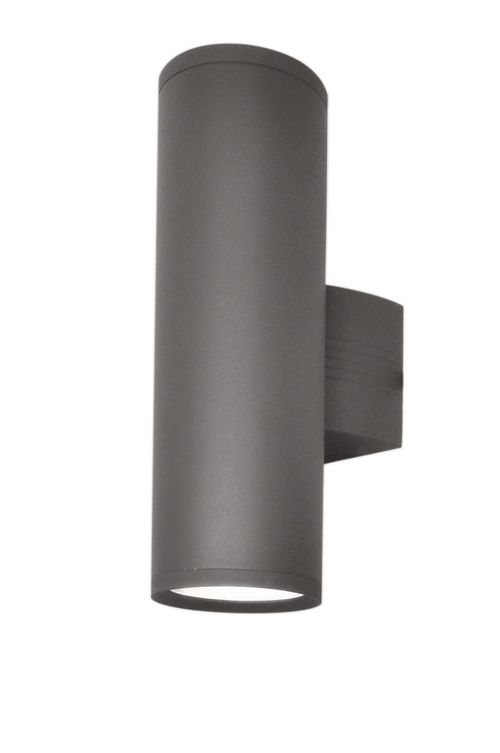 """Lightray 5"""" 2 Light Outdoor Wall Sconce in Architectural Bronze - Integrated Bulbs"""