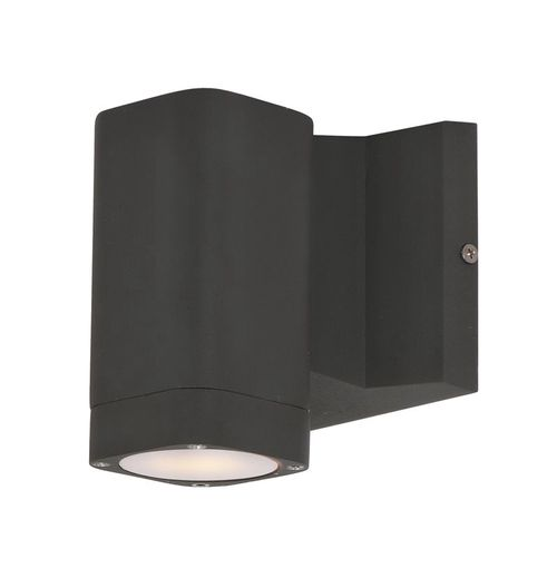 """Lightray 4"""" Single Light Outdoor Wall Sconce in Architectural Bronze"""