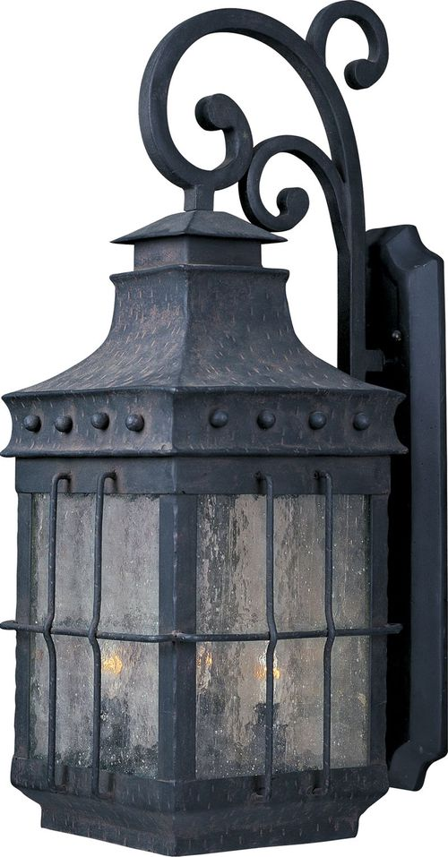 """Nantucket 11"""" 4-Light Outdoor Wall Mount - Country Forge"""