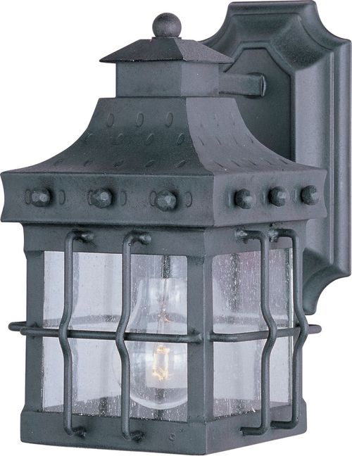 """Nantucket 6.5"""" 1-Light Outdoor Wall Mount - Country Forge"""