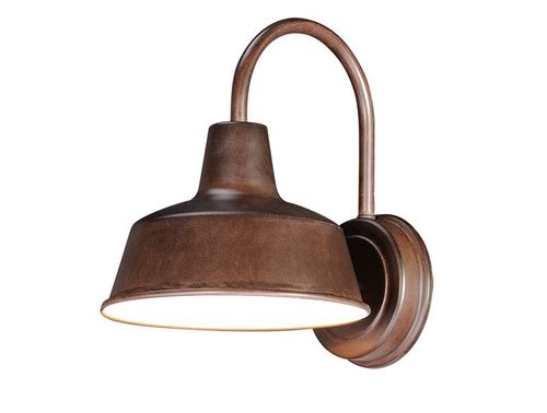 """Pier M 8.25"""" Single Light Outdoor Wall Sconce in Empire Bronze"""