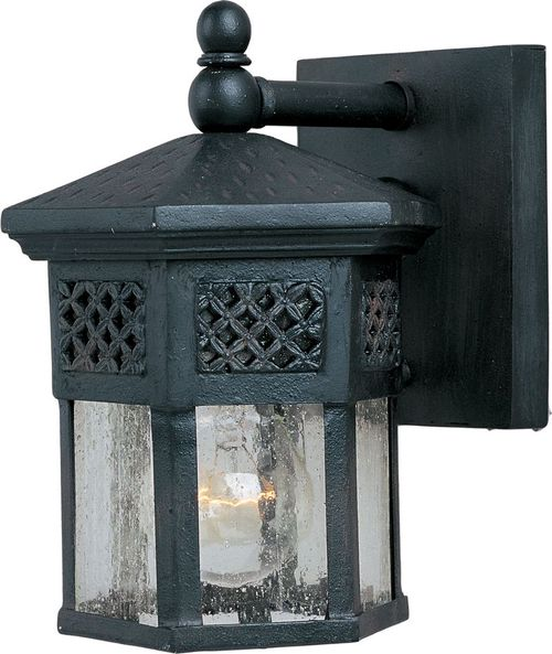 """Scottsdale 6"""" Single Light Outdoor Wall Mount Light in Country Forge"""