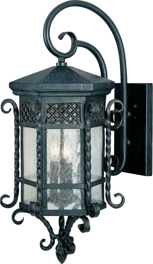 """Scottsdale 13.5"""" 3-Light Outdoor Wall Mount - Country Forge"""