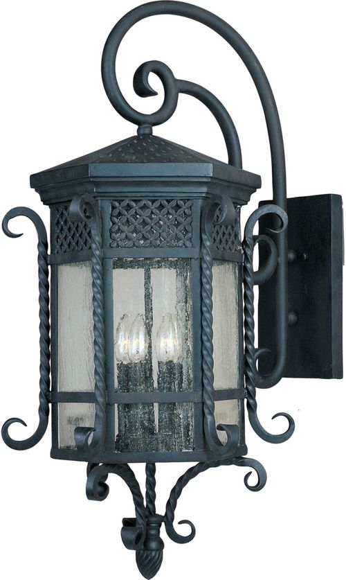 "Scottsdale 17"" 5-Light Outdoor Wall Mount - Country Forge"