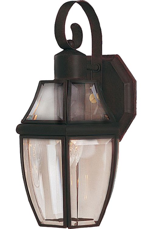 """South Park 7"""" 1-Light Outdoor Wall Mount - Burnished"""
