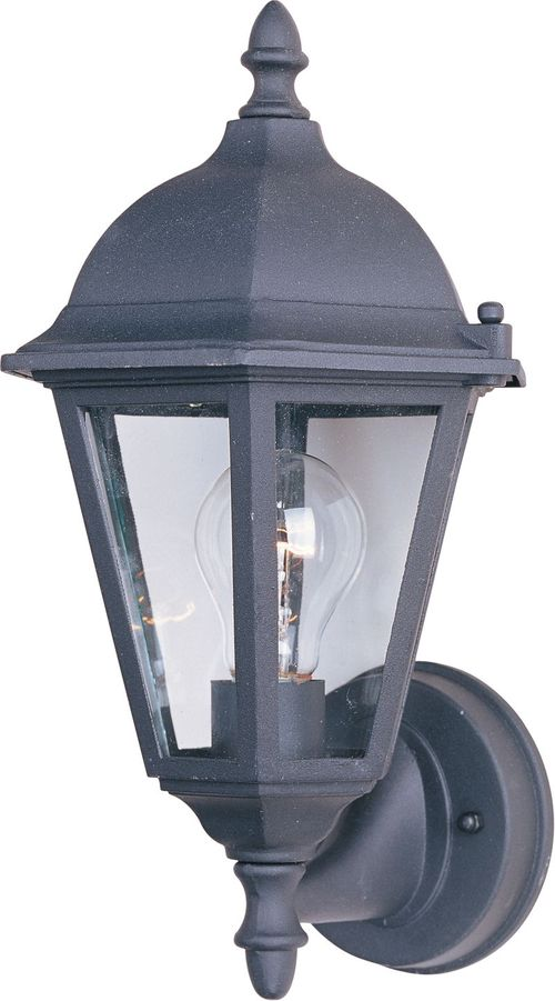 "Westlake 8"" 1-Light Outdoor Wall Mount - Black"