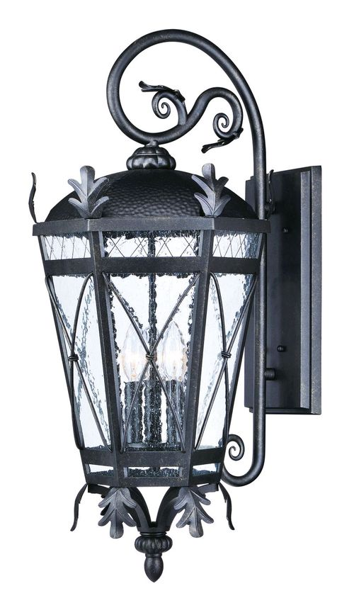 "Canterbury DC 12"" 3-Light Outdoor Sconce - Artesian Bronze"