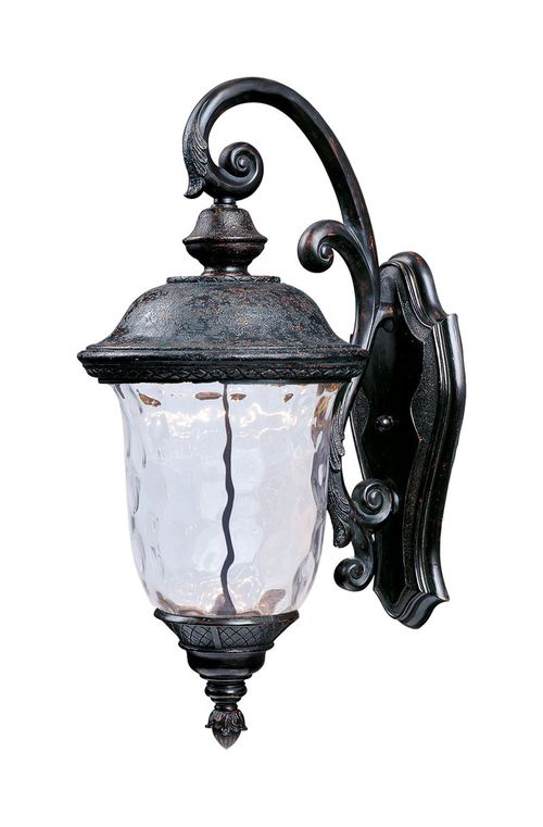 """Carriage House 9"""" 1-Light Outdoor Sconce - Oriental Bronze"""
