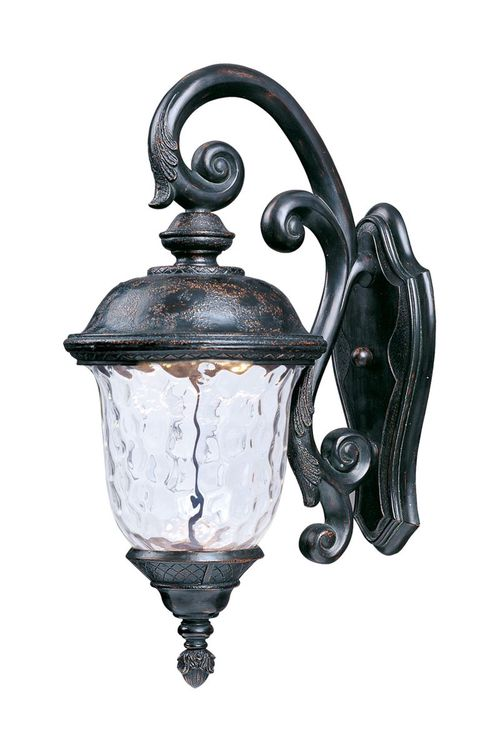 """Carriage House 12.5"""" Single Light Outdoor Wall Sconce in Oriental Bronze"""