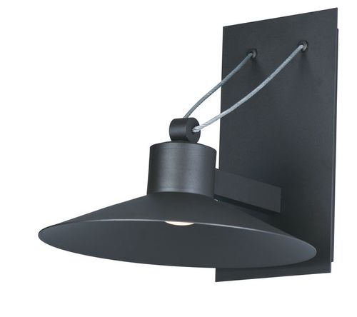 """Civic 7.75"""" Single Light Outdoor Wall Sconce in Architectural Bronze"""