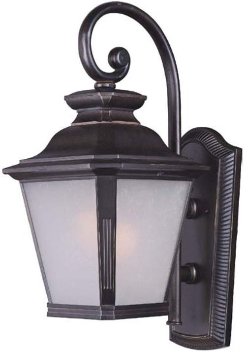 """Knoxville 11"""" Single Light Outdoor Wall Sconce in Bronze"""