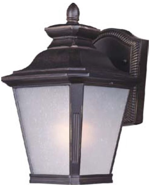 """Knoxville E26 7"""" Single Light Outdoor Wall Sconce in Bronze"""