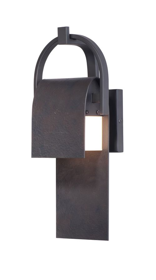 """Laredo 6"""" Single Light Wall Sconce in Rustic Forge"""