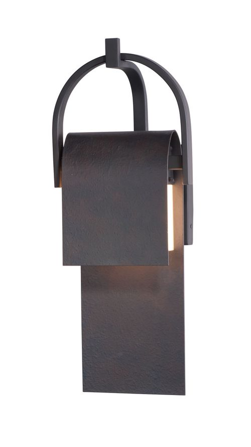 """Laredo 19.5"""" High 1 Light Wall Sconce in Rustic Forge"""