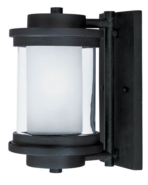 """Lighthouse 6"""" 1-Light Outdoor Sconce - Anthracite"""