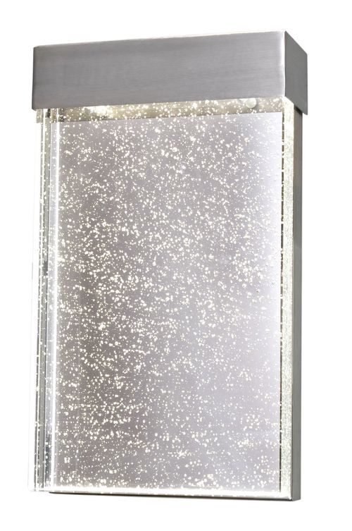 """Moda 7"""" 1-Light Wall Sconce - Stainless Steel"""