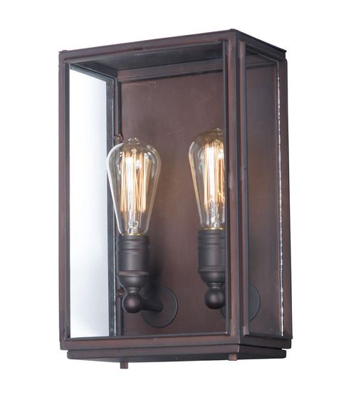 """Pasadena 9"""" 2-Light Wall Sconce - Oil Rubbed Bronze"""