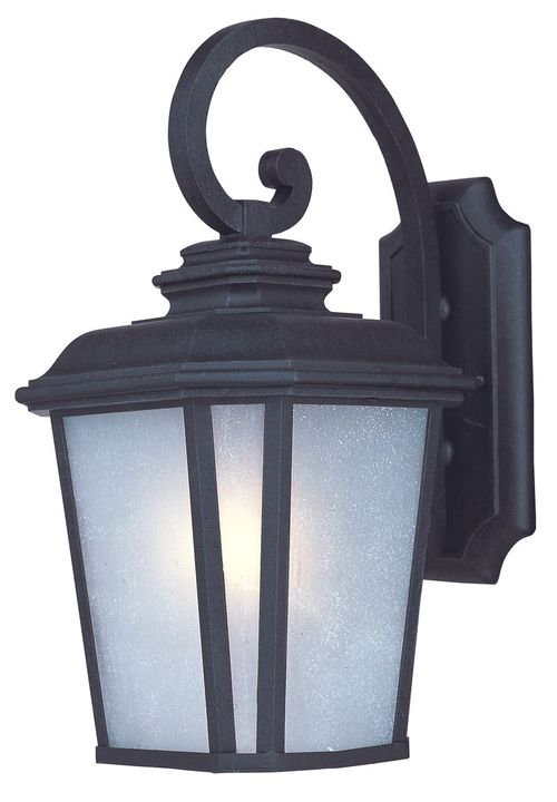 """Radcliffe 13.25"""" Single Light Outdoor Wall Sconce in Black Oxide"""