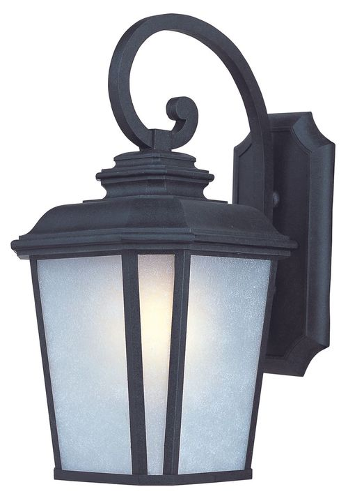 """Radcliffe 11"""" Single Light Outdoor Wall Sconce in Black Oxide"""