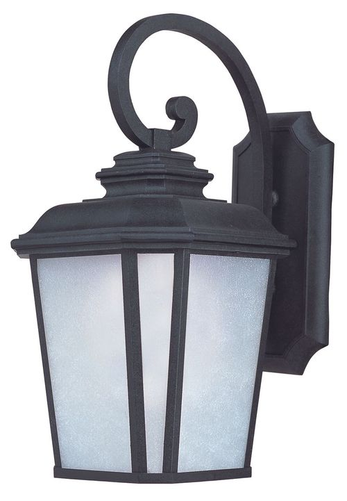 """Radcliffe E26 11"""" Single Light Outdoor Wall Sconce in Black Oxide"""