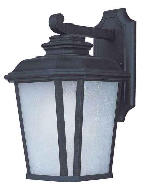 """Radcliffe E26 14.5"""" Single Light Outdoor Wall Sconce in Black Oxide"""