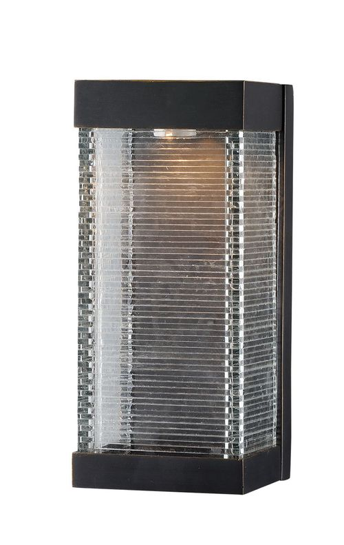 """Stackhouse VX 6"""" Single Light Outdoor Wall Sconce in Bronze"""