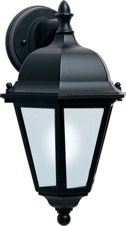 """Westlake E26 8"""" Single Light Hanging Outdoor Wall Sconce in Black"""