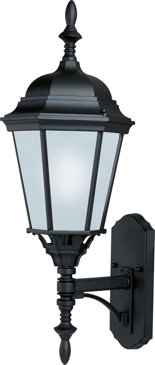 "Westlake E26 9.5"" 1-Light Outdoor Sconce - Black"