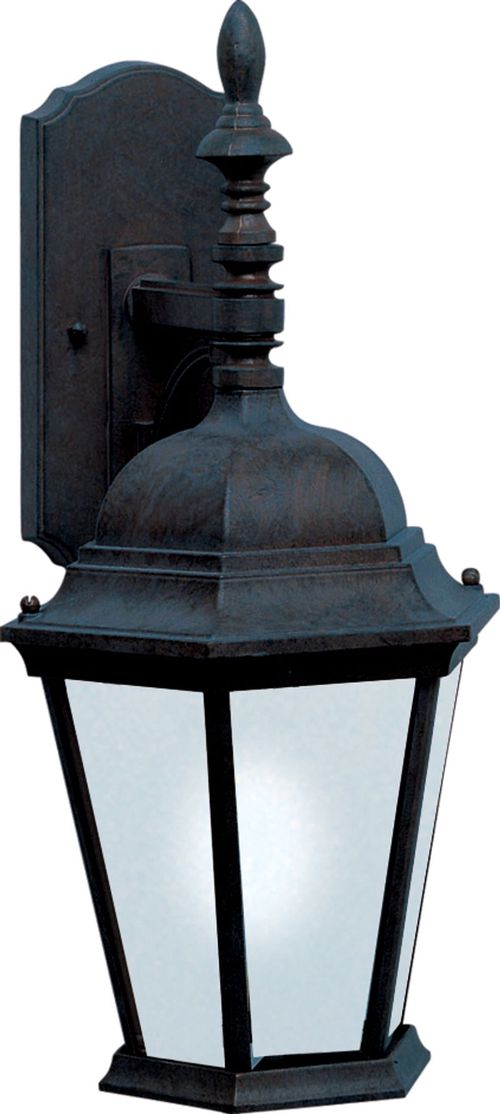 """Westlake E26 9.5"""" Single Light Hanging Outdoor Wall Sconce in Black"""