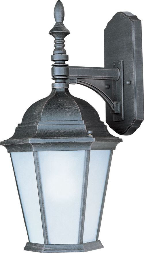 """Westlake E26 9.5"""" Single Light Hanging Outdoor Wall Sconce in Rust Patina"""