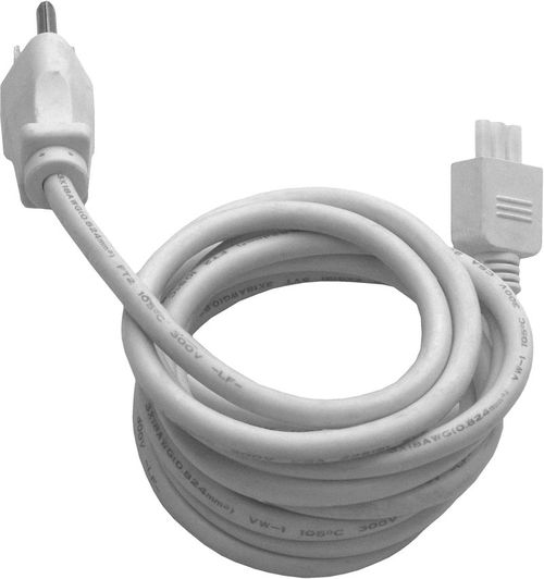 """CounterMax MXInterLink3 72"""" Under Cabinet Accessory Inter-Linking Cord in White"""