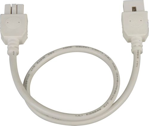 """CounterMax MXInterLink4 18"""" Under Cabinet Accessory Connection Cord in White"""
