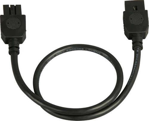 """CounterMax MXInterLink4 24"""" Under Cabinet Accessory Connection Cord in Black"""