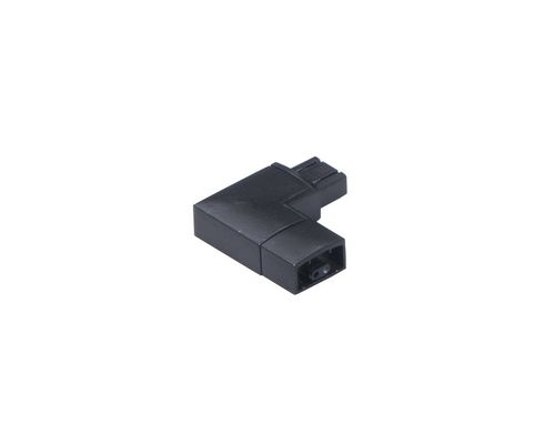 CounterMax MX-L-24-SS Under Cabinet Accessory 90 Degree Left Connector in Black