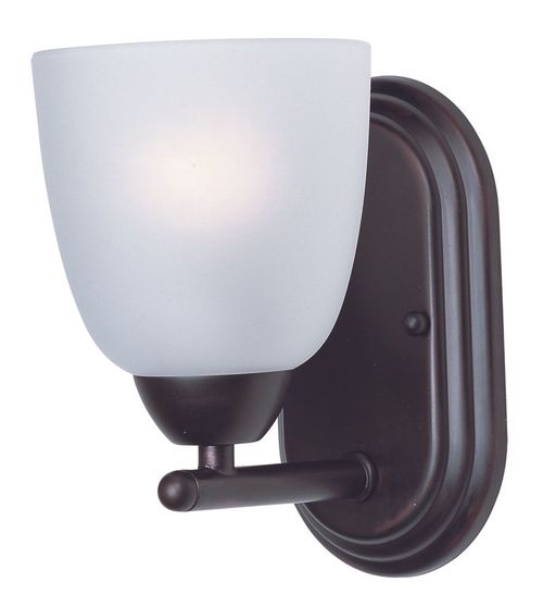 """Axis 5"""" Single Light Wall Sconce in Oil Rubbed Bronze"""