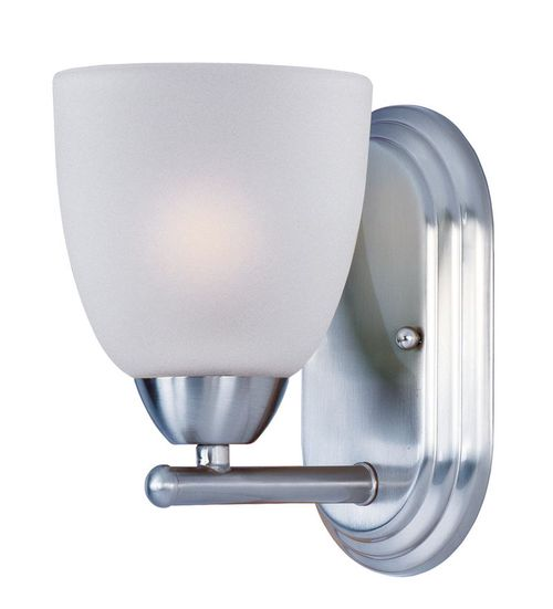"""Axis 5"""" Single Light Wall Sconce in Polished Chrome"""