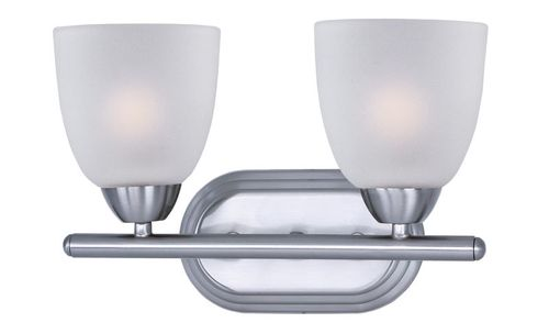 """Axis 13"""" 2 Light Vanity Lighting in Polished Chrome"""