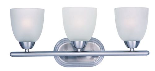 """Axis 21"""" 3 Light Vanity Lighting in Polished Chrome"""
