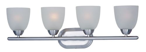 """Axis 28.5"""" 4 Light Vanity Lighting in Polished Chrome"""