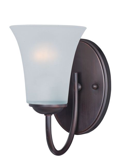 """Logan 5"""" Single Light Wall Sconce in Oil Rubbed Bronze"""