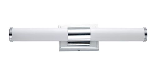 """Optic 24"""" Single Light Wall Sconce in Polished Chrome"""