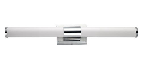 """Optic 30"""" Single Light Wall Sconce in Polished Chrome"""