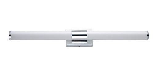 """Optic 36"""" Single Light Wall Sconce in Polished Chrome"""