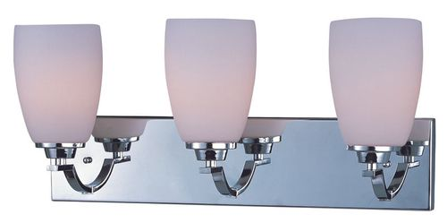 """Rocco 22"""" 3 Light Vanity Lighting in Polished Chrome"""